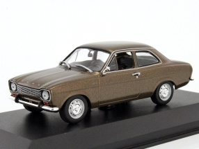 Ford Escort I LHD year 1974 brown metallic 1:43 Minichamps