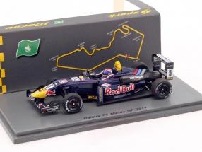Max Verstappen Dallara F312 #5 Macau GP Formel 3 2014 1:43 Spark