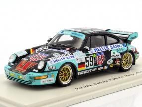 Porsche 911 Carrera RSR #59 24h LeMans 1994 Euser, Huisman, Tomlje 1:43 Spark
