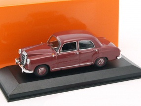 Mercedes-Benz 180 Ponton (W120) year 1955 red 1:43 Minichamps