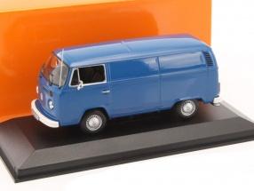 Volkswagen VW T2b Van Baujahr 1972 blau 1:43 Minichamps