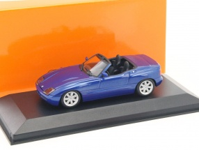 BMW Z1 (E30) year 1991 blue metallic 1:43 Minichamps