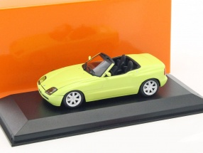 BMW Z1 (E30) year 1991 light yellow 1:43 Minichamps