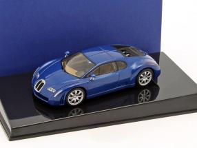 Bugatti EB18 3 Chiron blue metallic 1:43 AUTOart