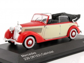 Mercedes-Benz 230 (W153) Cabriolet rot / beige 1:43 WhiteBox