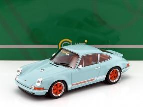 Porsche 911 (964) Singer Baujahr 2014 gulf blau / orange 1:18 Cult Scale