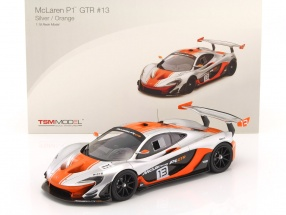 McLaren P1 GTR #13 silber / orange 1:18 TrueScale
