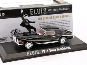 Stutz Blackhawk Elvis Presley year 1971 black 1:43 Greenlight
