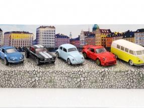5-Car Set Vintage Geschenkpack 1:64 Majorette