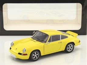 Porsche 911 Carrera RS 2.7 1973 gelb 1:18 AUTOart