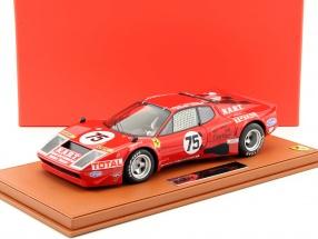 Ferrari 365 GT4/BB #75 24h LeMans 1977 Migault, Guitteny mit Vitrine 1:18 BBR