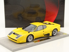 Ferrari 365 GT4 BB Baujahr 1975 gelb 1:18 BBR