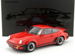 Porsche 911 (930) Turbo year 1977 red 1:12 Minichamps