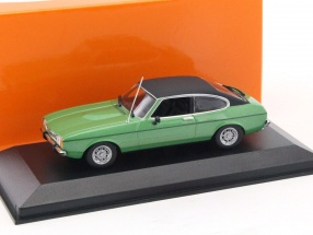 Ford Capri II year 1974 green metallic 1:43 Minichamps