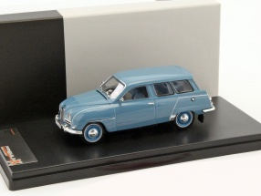 Saab 95 Construction year 1961 blue 1:43 PremiumX