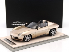 Alfa Romeo Disco Volante Spyder Baujahr 2016 metallic gold champagne 1:18 Tecnomodel
