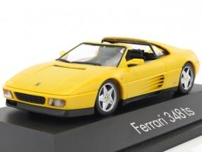 Ferrari 348 TS Targa Baujahr 1985-1995 gelb 1:43 Herpa