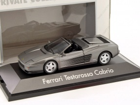Ferrari Testarossa Cabriolet grau 1:43 Herpa