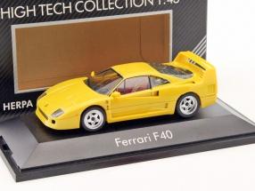 Ferrari F40 Baujahr 1987-1992 gelb 1:43 Herpa