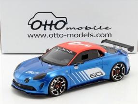 Alpine A120 Celebration Dieppe #60 Baujahr 2016 blau / weiß / rot 1:18 OttOmobile