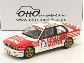 BMW M3 E30 #14 2nd Tour de Corse 1989 Chatriot, Perin 1:18 OttOmobile