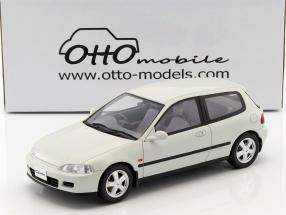 Honda Civic (EG6) SiR II Baujahr 1992 frost weiß 1:18 OttOmobile