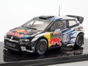 Volkswagen VW Polo R WRC #1 World Champion rally australia 2016 Ogier / Ingrassia 1:43 Ixo