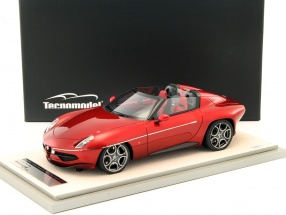 Alfa Romeo Disco Volante Spyder Baujahr 2016 rot metallic 1:18 Tecnomodel