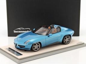 Alfa Romeo Disco Volante Spyder Baujahr 2016 hellblau metallic 1:18 Tecnomodel