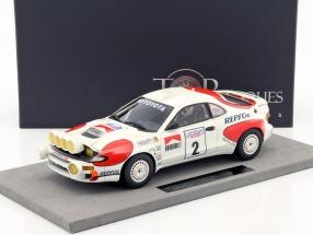 Toyota Celica Turbo 4WD Night Version #2 Winner Lombard RAC Rallye 1992 Sainz, Moya 1:18 TopMarques