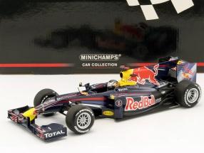 Sebastian Vettel Renault 2.4 V8 #5 Showcar Weltmeister Formel 1 2010 1:18 Minichamps