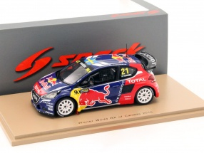 Peugeot 208 WRX #21 Winner World RX of Canada 2016 Hansen 1:43 Spark