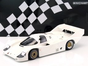 Porsche 956K Plain Body Version Baujahr 1982 weiß 1:18 Minichamps
