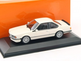 BMW 635 CSi (E24) Baujahr 1982 weiß 1:43 Minichamps