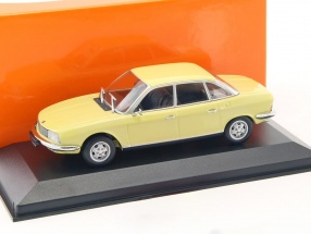 NSU Ro 80 year 1972 corona yellow 1:43 Minichamps