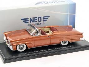 Lincoln Continental MK III Convertible Baujahr 1958 gold 1:43 Neo