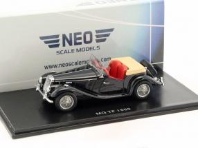 MG TF 1500 RHD schwarz 1:43 Neo