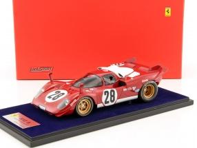 Ferrari 512 S #28 3rd 24h Daytona 1970 Andretti, Merzario, Ickx 1:18 LookSmart
