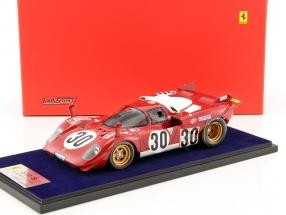 Ferrari 512 S #30 24h Daytona 1970 Manfredini, Moretti 1:18 LookSmart