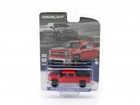 Chevrolet Silverado Rallye Edition Baujahr 2015 rot / schwarz 1:64 Greenlight
