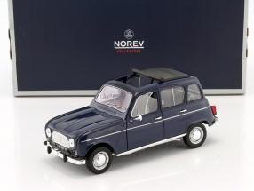 Renault 4 Baujahr 1965 dunkelblau 1:18 Norev