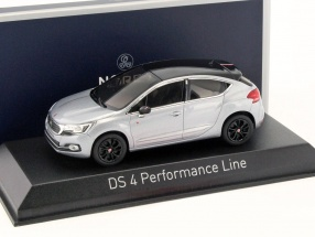 Citroen DS4 Performance Line year 2016 Artense gray 1:43 Norev