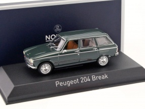 Peugeot 204 Break Baujahr 1969 antik grün 1:43 Norev