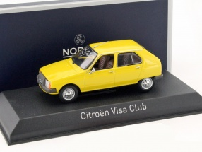 Citroen Visa Club Baujahr 1979 mimosa gelb 1:43 Norev