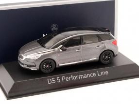 Citroen DS5 Performance Line Baujahr 2016 platinium grau 1:43 Norev