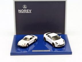 2-Car Set Alpine Vision 2016 + Alpine A110 1973 weiß 1:43 Norev