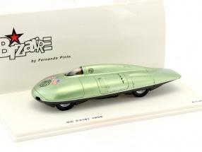 MG EX181 record car 1959 green 1:43 Spark Bizarre
