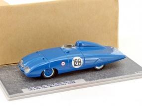 Panhard Riffard Record Car #128 Montlhery 201,88 kph 1954 1:43 Spark Bizarre