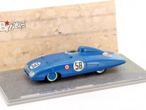 Panhard X88 #58 24h LeMans 1954 P. Chancel, R. Chancel 1:43 Spark Bizarre