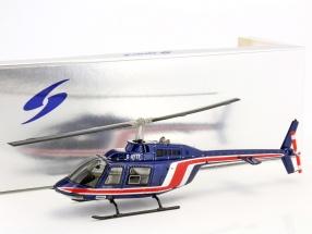 Team Lotus Formula 1 1981 Helicopter Essex team blue / red 1:43 Spark